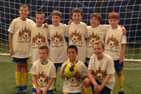 U10 Boys Yellow Champions - Cleveland Indoor Classic
