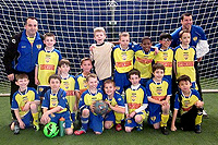 U9 Boys Yellow Champions - Cleveland Indoor