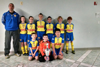 U11 Boys Champions  Internationals Tournament